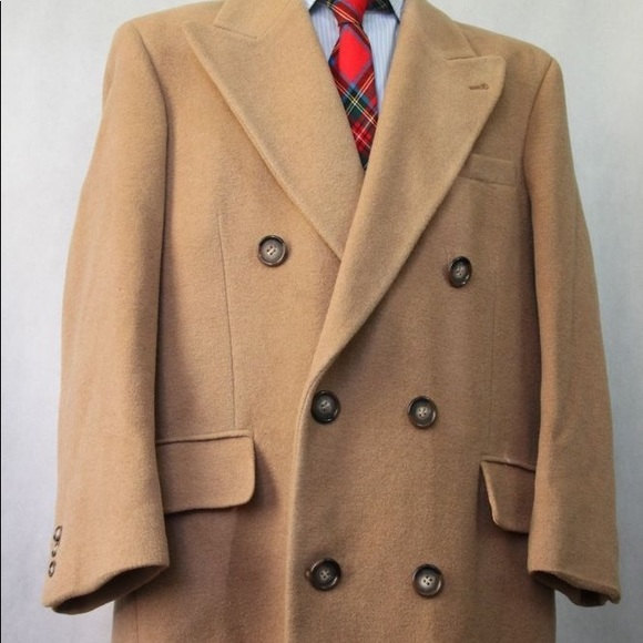 bright n colour moderate cost sale uk MEN'S RALPH LAUREN CAMEL HAIR BLEND WINTER COAT